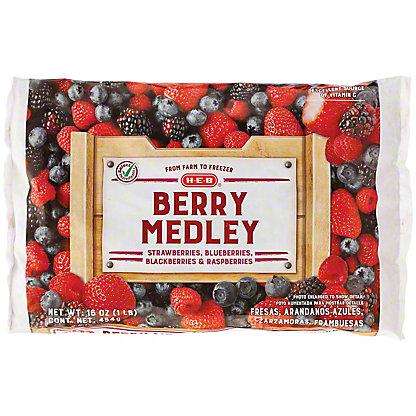 H-E-B H-E-B Berry Medley (No Sugar Added),16.00 oz