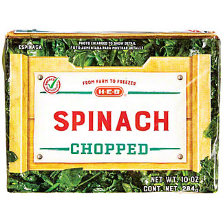 H-E-B H-E-B Chopped Spinach,10.00 oz