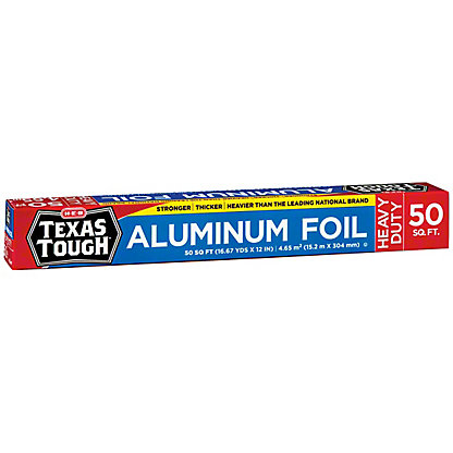 H-E-B Texas Tough Heavy Duty Aluminum Foil, 50 sq ft