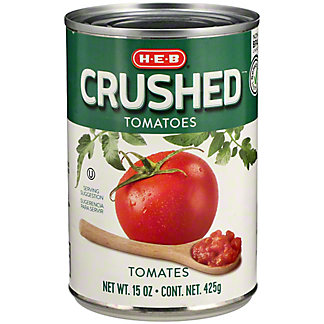 H-E-B Select Ingredients Crushed Tomatoes, 15 oz