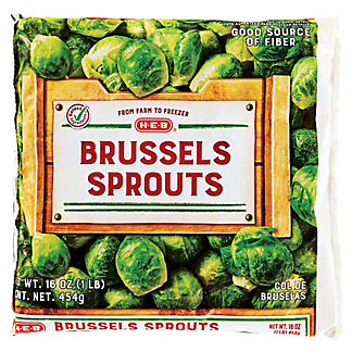H-E-B H-E-B Brussel Sprouts,16 OZ