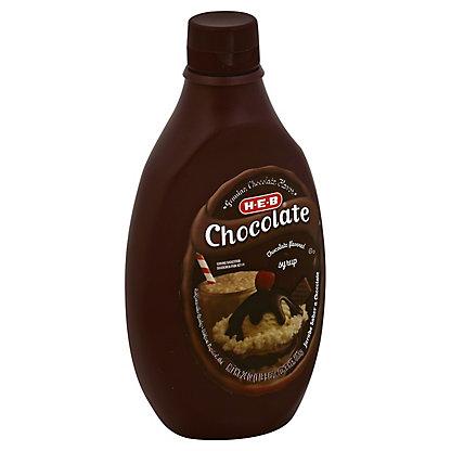 H-E-B Chocolate Syrup,24.00 oz