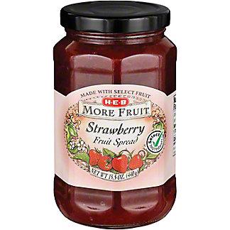 H-E-B More Fruit Strawberry Fruit Spread,15.5 OZ