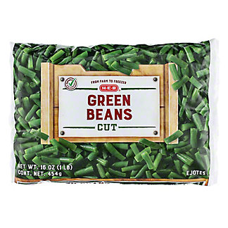 H-E-B H-E-B Cut Green Beans,16 OZ