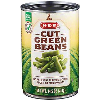 H-E-B Cut Green Beans,14.5 oz