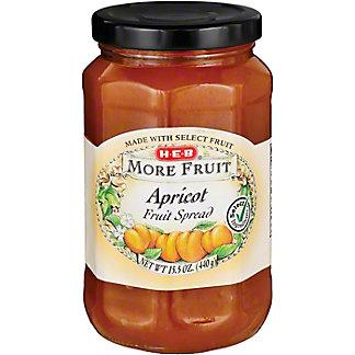 H-E-B More Fruit Apricot Fruit Spread,15.5 OZ