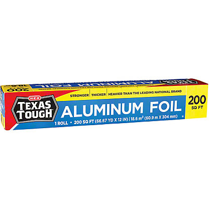 H-E-B Texas Tough Aluminum Foil, 200 sq ft