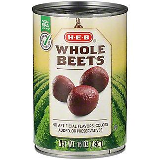 H-E-B Whole Beets,14.5 oz