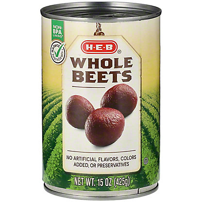 H-E-B Whole Beets,14.5 oz