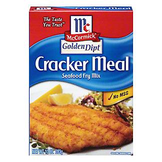 McCormick Golden Dipt Cracker Meal Seafood Fry Mix, 10 oz