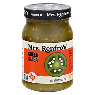 Mrs. Renfro's Jalapeno Hot Green Salsa,16 OZ
