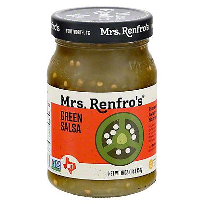 Mrs. Renfro's Jalapeno Hot Green Salsa,16 OZ