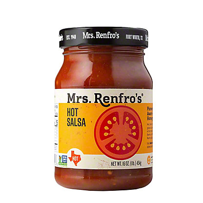Mrs. Renfro's Hot Salsa,16.00 oz