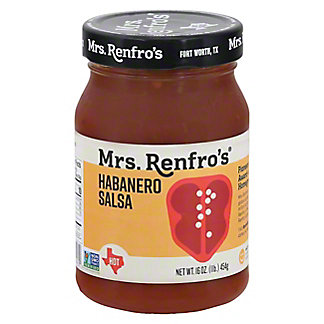 Mrs. Renfro's Hot Habanero Salsa,16 OZ