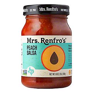 Mrs. Renfro's Mild Peach Salsa, 16 OZ