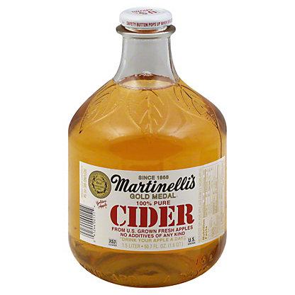 Martinellis Gold Medal 100% Pure Cider,1.5 L