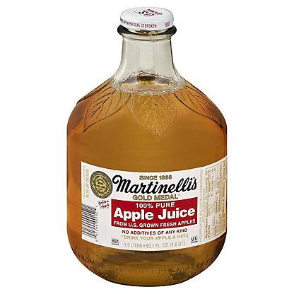 Martinellis Gold Medal 100% Pure Apple Juice,50.7 OZ