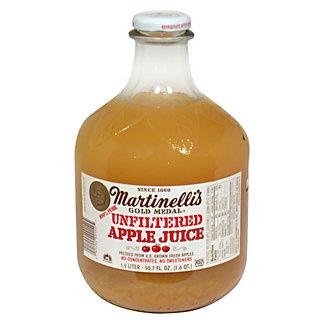 Martinellis Gold Medal Unfiltered Apple Juice,50.7 OZ