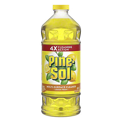 Pine-Sol Lemon Fresh Multi-Surface Cleaner, 48 oz