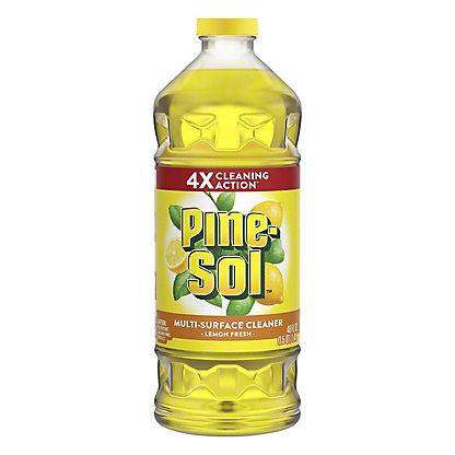 Pine-Sol Lemon Fresh Multi-Surface Cleaner, 48 oz