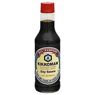 Kikkoman All-purpose Soy Sauce, 10 oz