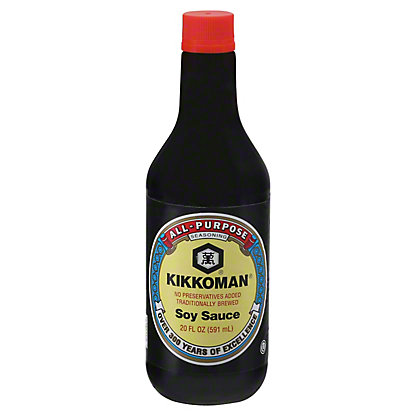Kikkoman All-purpose Soy Sauce, 20 oz