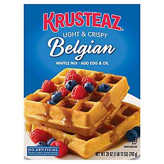 Krusteaz Belgian Waffle Mix,28 oz