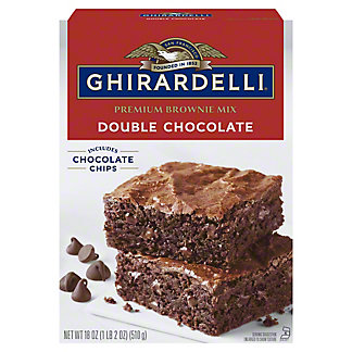 Ghirardelli Chocolate Double Chocolate Brownie Mix,20 OZ