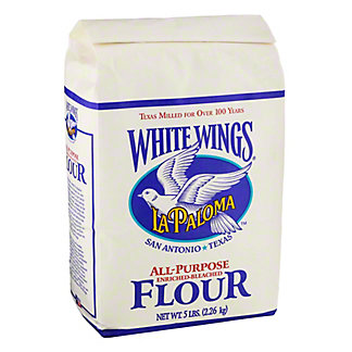 La Paloma White Wings Enriched All Purpose Flour Bleached,5 LBS