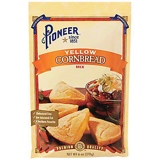 Pioneer Brand Yellow Cornbread Mix, 6 oz