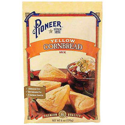 Pioneer Brand Yellow Cornbread Mix, 6 oz