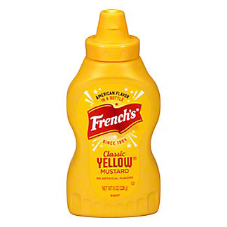 French's Classic Yellow Mustard, 8 oz