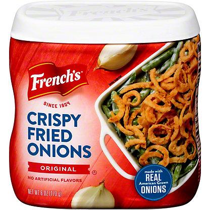 French's Original French Fried Onions, 6 oz