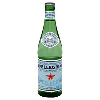 San Pellegrino Sparkling Water Bottle,500 ML