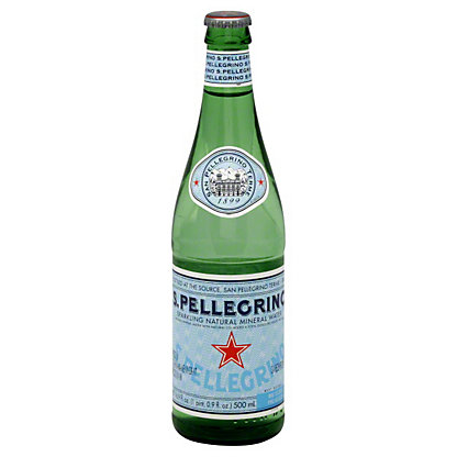 San Pellegrino Sparkling Water Bottle,500 ML