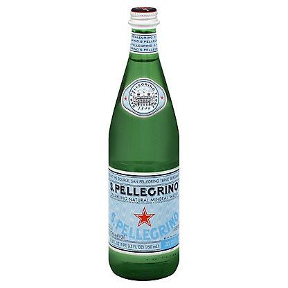 San Pellegrino Sparkling Natural Mineral Water, 25.3 oz