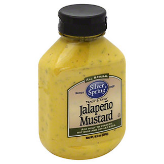 Silver Spring Jalapeno Mustard,9.5 OZ