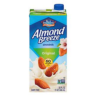 Blue Diamond Almond Breeze Original Non-dairy Beverage, 32 oz