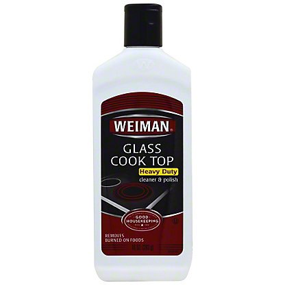 Weiman Glass Cook Top Heavy Duty Cleaner And Polish,10 oz