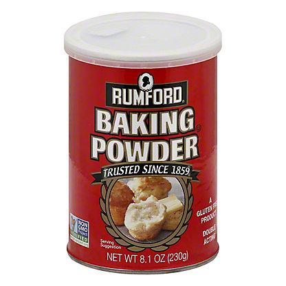 Rumford Aluminum-Free Baking Powder,8.10 oz