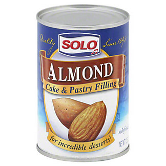 Solo Almond Cake & Pastry Filling, 12.5 OZ