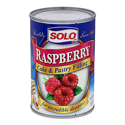 Solo Raspberry Cake and Pastry Filling, 12.5 oz