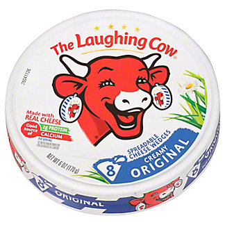 The Laughing Cow Original Creamy Swiss Wedges,6 OZ