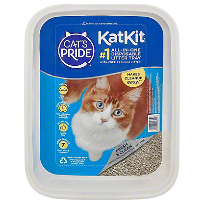 Cat's Pride Kat Kit Disposable Tray with Free Litter,3 LBS