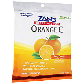 ZAND Orange C With Vitamin C Herbalozenges,1.5 OZ