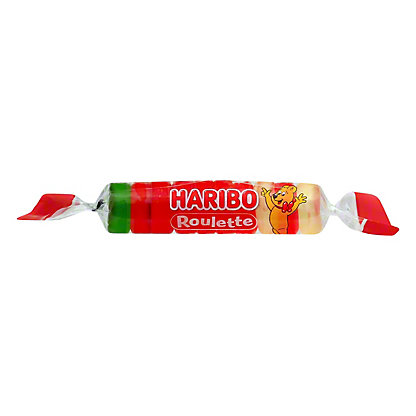 Haribo Roulette Roll Candy,7/8 OZ