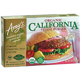 Amy's California Veggie Burger, 10 OZ
