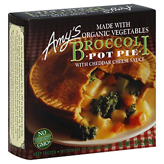 Amys Broccoli Pot Pie with Cheddar Cheese Sauce, 7.5 OZ