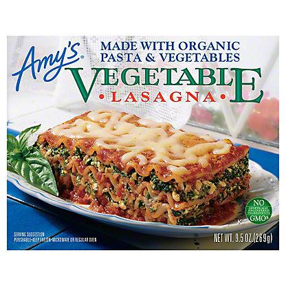 Amy's Vegetable Lasagna,9.5 oz