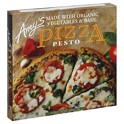 Amy's Pesto Pizza, 13.5 oz